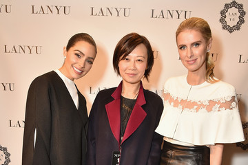 Lan Yu LANYU Fall/Winter 2017 Runway Show - Front Row