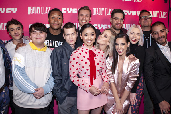 Kevin Smith Hosts Premiere Week Screening Of SYFY's 'Deadly Class' With Cast