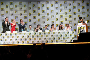 """Lana Parrilla Colin O'Donoghue ABC's """"Once Upon A Time"""" Panel - Comic-Con International 2014"""