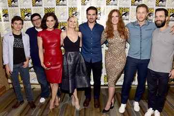 Lana Parrilla Colin O'Donoghue Comic-Con International 2016 - 'Once Upon A Time' Press Line