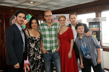 Lana Parrilla Colin O'Donoghue Nintendo Lounge On The TV Guide Magazine Yacht At Comic-Con #TVGMYacht - Day 3