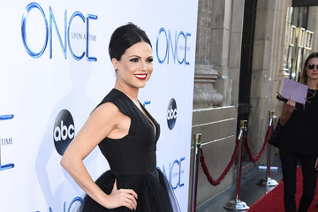 "Lana Parrilla Screening Of ABC's ""Once Upon A Time"" Season 4 - Red Carpet"