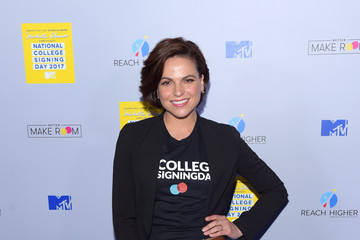 Lana Parrilla MTV's 2017 College Signing Day with Michelle Obama - Arrivals