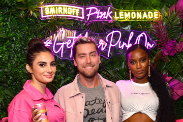 Lance Bass Smirnoff Celebrates Its Pink Lemonade Portfolio With Signature Cocktails And A Pink Flamingo Event Hosted By Summer House Stars Paige DeSorbo And Ciara Miller In New York City