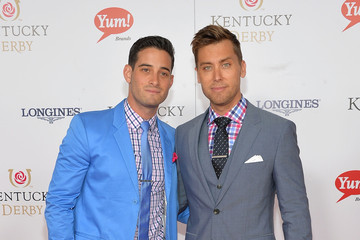 Lance Bass Moet & Chandon Toasts The 139th Kentucky Derby - Day 2