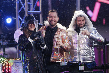Lance Bass Times Square New Year's Eve 2019 Celebration