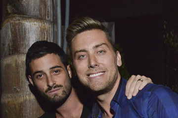 Lance Bass Grand Opening Of Le Jardin