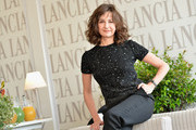 Valerie Lemercier attends the 7th Rome Film Festival at Lancia Cafe on November 10, 2012 in Rome, Italy.