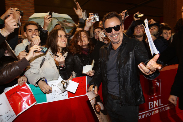 Lancia On The Red Carpet At The 5th International Rome Film Festival: November 01 , 2010