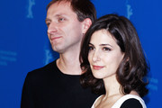 """(L-R)  Actor Goran Kostic and actress Zana Marjanovic attend the """"In The Land Of Blood And Honey"""" Photocall during day three of the 62nd Berlin International Film Festival at the Grand Hyatt on February 11, 2012 in Berlin, Germany."""