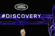 Zara Phillips poses with the 'New Discovery' under a Lego structure of Tower Bridge during the launch of Land Rover's 'New Discovery' at Packington Hall on September 28, 2016 in Solihull, England. Land Rover revealed their brand new Discovery with the help of ambassadors Zara Phillips, Bear Grylls and Sir Ben Ainslie against the backdrop of the replica of Londons Tower Bridge, made entirely from Lego. The structure broke the Guinness World Record for the greatest number of Lego bricks used in a sculpture with over 5.8 million pieces.