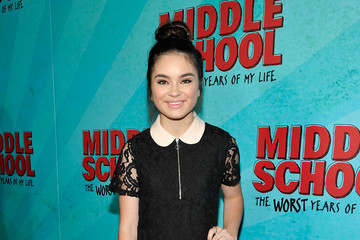 Landry Bender Los Angeles Red Carpet Screening of 'Middle School: The Worst Years of My Life'