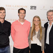 Andy Murray and Katie Swan