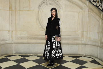 Langley Fox Hemingway Christian Dior: Photocall - Paris Fashion Week Womenswear Fall/Winter 2018/2019