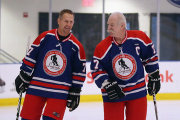 Lanny McDoanld 2013 Hockey Hall Of Fame - Legends Classic