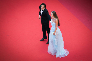 Lara Leito 'Ismael's Ghosts (Les Fantomes d'Ismael)' and Opening Gala Red Carpet Arrivals - The 70th Annual Cannes Film Festival
