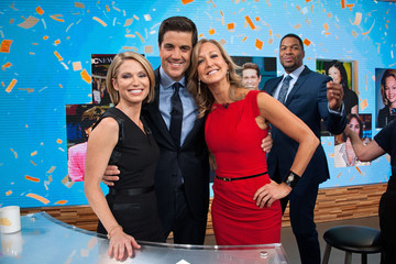 Lara Spencer Amy Robach 'Good Morning America's' 40th Anniversary