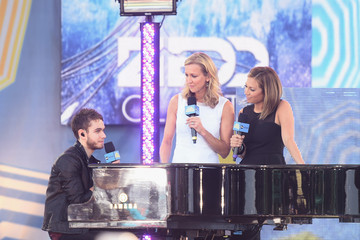 Lara Spencer Zedd Performs on 'GMA'