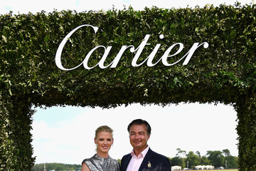 Lara Stone Cartier Queen's Cup Polo
