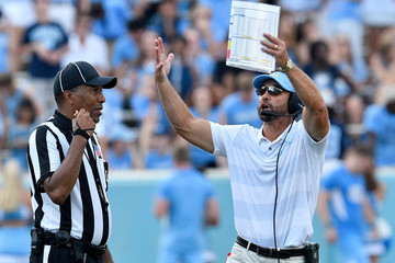 Larry Fedora Pittsburgh v North Carolina
