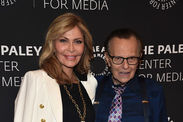 Larry King The Paley Center For Media Presents: A Special Evening With Dionne Warwick: Then Came You - Arrivals