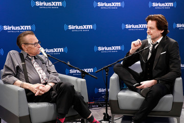 Larry King Larry King Visits the SiriusXM Studios for 'A Conversation With Larry King, Hosted by John Fugelsang'