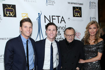 Larry King Chance Armstrong King National Film And Television Awards Ceremony