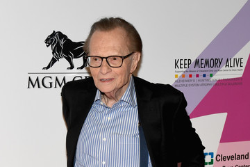 Larry King Keep Memory Alive's 21st Annual 'Power Of Love Gala' - Red Carpet