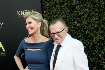 Larry King Shawn King 45th Annual Daytime Emmy Awards - Arrivals