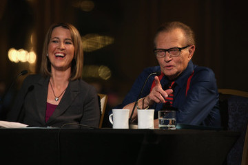 Larry King Third Party Presidential Candidate Debate Held In Chicago