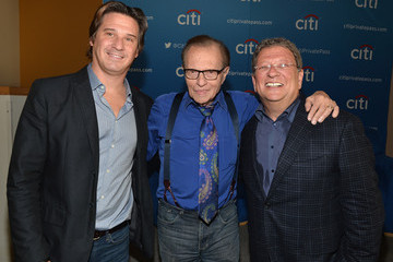 Larry King The National Radio Hall Of Fame And Larry King Host A Private Lunch Honoring Charley Steiner