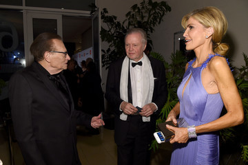 Larry King 2016 Pre-GRAMMY Gala And Salute to Industry Icons Honoring Irving Azoff - Red Carpet
