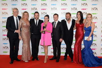 Larry Lamb National Television Awards - Winners Room