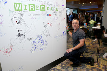Larry Murphy 2017 WIRED Cafe at Comic Con, Presented by AT&T Audience Network - Day 3
