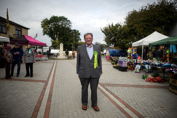 Larry Sanders Prospective Parliamentary Candidates Canvass For Votes Ahead Of The Witney By-election