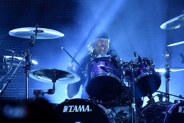 Lars Ulrich Metallica Performs in Concert - East Rutherford, NJ