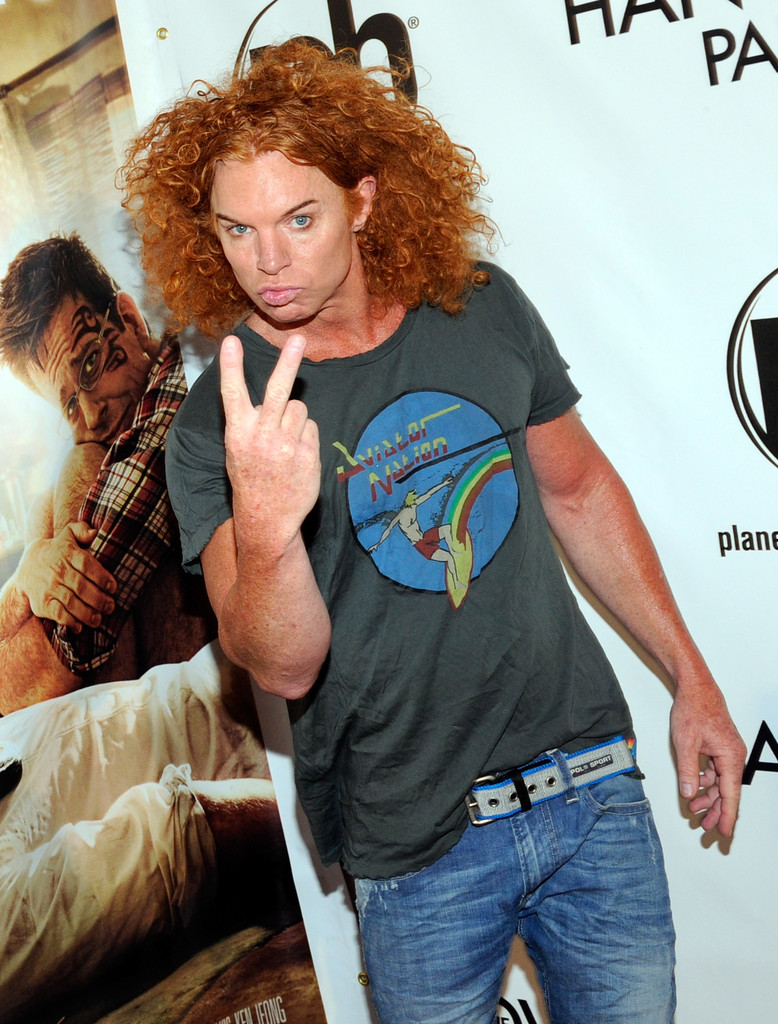 Carrot Top Photos Photos Las Vegas Premiere Of Warner