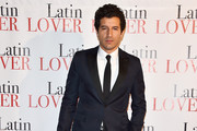 Francesco Scianna attends 'Latin Lover' Screening on March 17, 2015 in Milan, Italy.