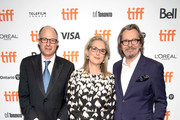 Jake Bernstein, Meryl Streep and Gary Oldman attends the North American Premiere of 'The Laundromat' at the The Princess of Wales Theatre on September 09, 2019 in Toronto, Canada.