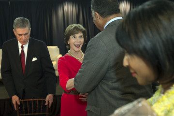 Laura Bush LBJ Presidential Library Hosts Summit