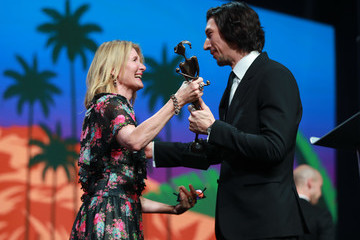 Laura Dern Adam Driver 31st Annual Palm Springs International Film Festival Film Awards Gala - Awards Presentation