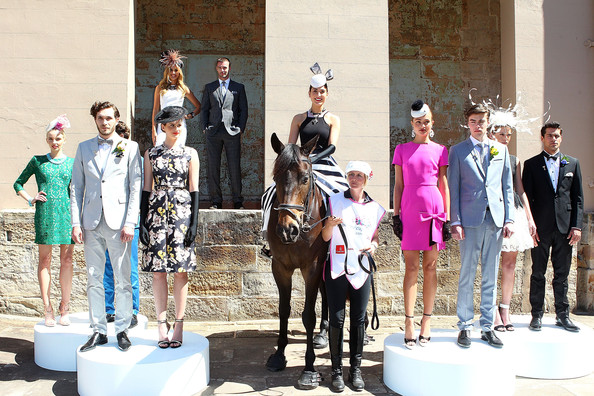 Melbourne Cup Carnival Spring Fashion Moment [fashion,horse,event,recreation,fashion design,fawn,tourism,models,australia,sydney,melbourne cup carnival spring fashion moment,laura dundovic,kris smith,rebecca bramich]