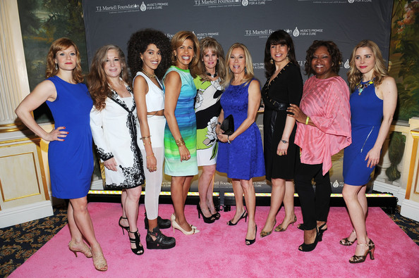 Arrivals at the Women of Influence Awards [event,yellow,fashion,dress,footwear,carpet,party,flooring,competition,premiere,jetta,arrivals,randi rahm,megan sikora,kathie lee gifford,laura heatherly,hoda kotb,robin quivers,l-r,women of influence awards]
