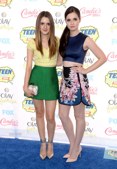 Laura Marano - Arrivals at the Teen Choice Awards