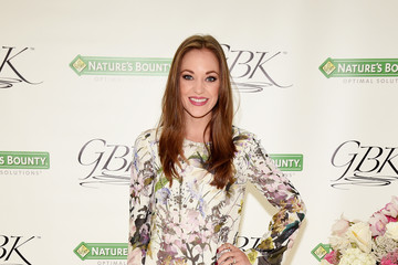 Laura Osnes Nature's Bounty At GBK Production Style Lounge
