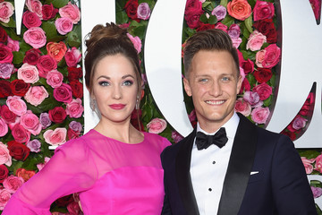 Laura Osnes Nathan Johnson 72nd Annual Tony Awards - Arrivals
