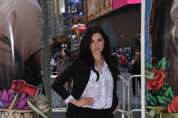 Laura Prepon 'Orange Is The New Black' Times Square Takeover