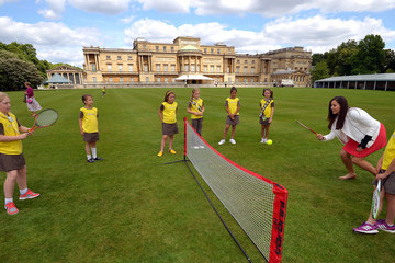 Laura Robson Tea Party Held for Brownies at Buckingham