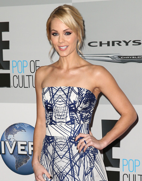 Laura Vandervoort - NBCUniversal's 72nd Annual Golden Globes After Party - Arrivals