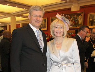 Laureen Harper Diamond Jubilee - Queen Elizabeth II Attends Reception At Guildhall